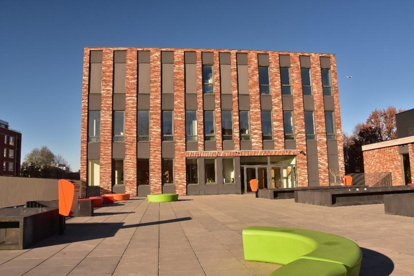 Nieuwbouw Driestar College Leiden
